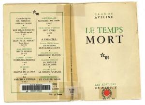 MRD – De la réalité historique à la fiction littéraire. Autour du «Temps mort» de Claude Aveline (1944)