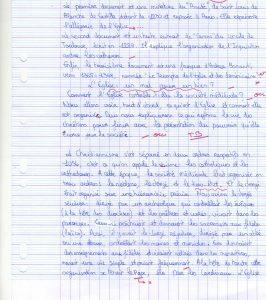 Proposition de commentaire de documents sur le chapitre «La chrétienté médiévale».