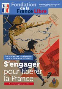 «S'engager pour libérer la France» – Stage PAF CNRD 30 novembre 2017