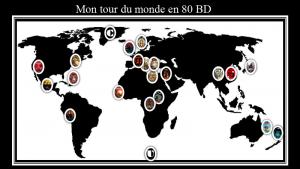 PPT tour du monde en 80 BD